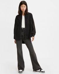 Levi's Jean taille haute pattes d'eph taille 70's High Flare Noir