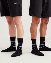 Levi's ® Short Cut Sportswear Socks 2 Pack - Black