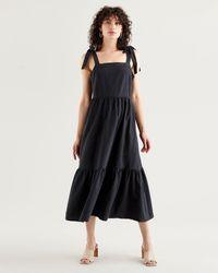 Levi's Long Tiered Dress - Black