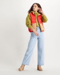 Levi's Lydia Reversible Vest - Red