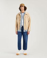Levi's Jeans Stay Loose Cropped affusolati Blu