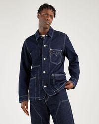 Levi's Abrigo diseñado ® RedTM Azul
