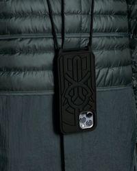 5 MONCLER CRAIG GREEN Moncler Phone Case - Black