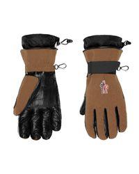 3 MONCLER GRENOBLE Gloves - Black
