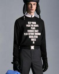 Moncler T-shirt Regular Fit - Nero