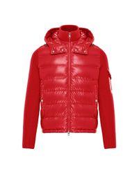 Moncler Lined Jumper - Red