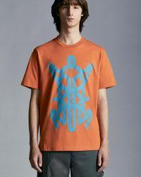 5 MONCLER CRAIG GREEN Moncler T-shirt Con Stampa Rana - Arancione