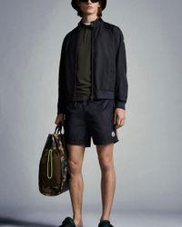Moncler Nylon Swim Shorts - Blue
