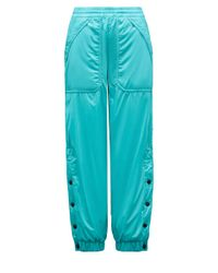3 MONCLER GRENOBLE Moncler Pants With Snaps - Blue
