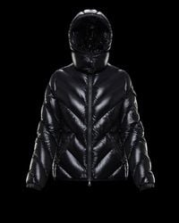 Moncler Brouel Hooded Padded Shell-down Coat - Black