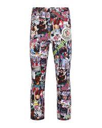 8 MONCLER PALM ANGELS Printed Pants - Multicolor