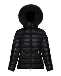 Moncler Badyfur Fur-trim Puffer Jacket - Black