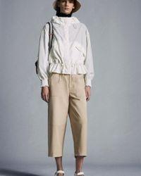 Moncler Pantalon Cropped - Neutre