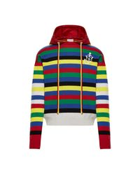 1 MONCLER JW ANDERSON Moncler Maglia A Righe - Rosso