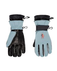 3 MONCLER GRENOBLE Moncler Ski Gloves - Black