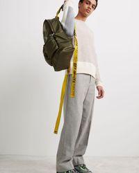 Off-White c/o Virgil Abloh Rubber Arrows Backpack - Verde