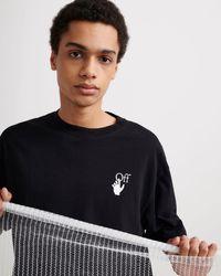 Off-White c/o Virgil Abloh Carav Arrows Tシャツ - ブラック