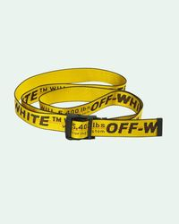 Off-White c/o Virgil Abloh Cintura con fibbia - Giallo