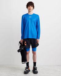 Off-White c/o Virgil Abloh ロングtシャツ - ブルー