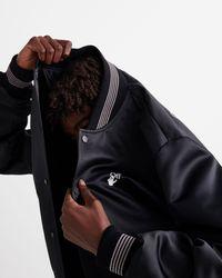 Off-White c/o Virgil Abloh Varsity Jacket - Black