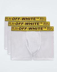 Off-White c/o Virgil Abloh インダストリアル ボクサーパンツ セット - ホワイト