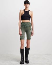 Off-White c/o Virgil Abloh Seamless Shorts - グリーン