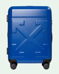Off-White c/o Virgil Abloh Arrows Suitcase - Blue