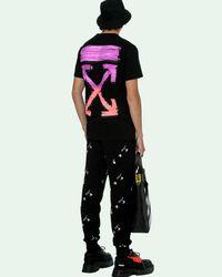 Off-White c/o Virgil Abloh Marker Tシャツ - ブラック
