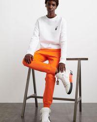 Off-White c/o Virgil Abloh Diag Stripe ロゴ トラックパンツ - オレンジ