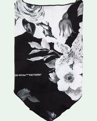 Off-White c/o Virgil Abloh Masque à fleurs - Noir