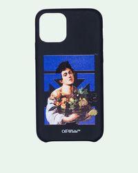 Off-White c/o Virgil Abloh Coque iPhone 12 Pro Caravaggio Boy - Noir