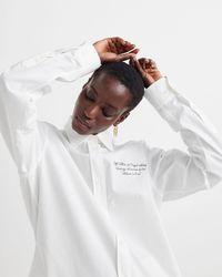 Off-White c/o Virgil Abloh New Basic シャツ - ホワイト