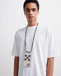 Off-White c/o Virgil Abloh Coque d'iPhone 12 mini à lacets - Multicolore