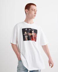 Off-White c/o Virgil Abloh Caravaggio Tシャツ - ホワイト