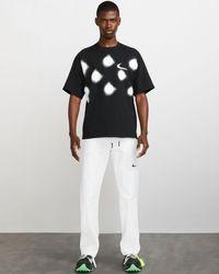 NIKE X OFF-WHITE Tm️ Trousers - White