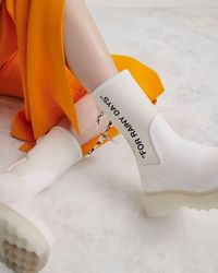 Off-White c/o Virgil Abloh Rubber Boots - ホワイト