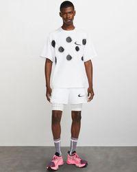 NIKE X OFF-WHITE TM️ Short sleeves T-shirt - Blanco