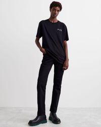 Off-White c/o Virgil Abloh Ow ロゴ Tシャツ - ブラック