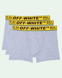 Off-White c/o Virgil Abloh Industrial ボクサーパンツ - グレー
