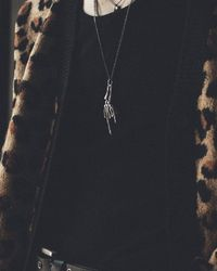 Other .925 Xl Rock Necklace - Multicolour