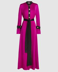 ‎LAYEUR‎ Anna Mary Trapeze Dress - Pink
