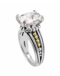 Lagos | White Topaz Prism Ring | Lyst