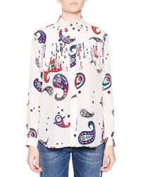 MSGM Multicolor Long Sleeve Shirt