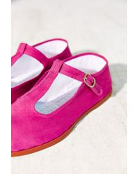 Urban Outfitters - Purple T-strap Mary Jane - Lyst