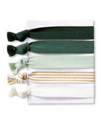 Banana Republic | Green Yoga Hair Ties | Lyst