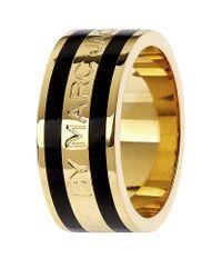 Marc By Marc Jacobs - Metallic Enamel Stripe Ring - Lyst