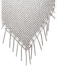 Isabel Marant - Metallic Shawl Necklace - Lyst
