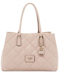 Guess - Pink Ophelia Girlfriend Satchel - Lyst