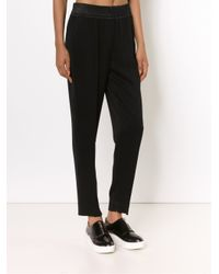 3.1 Phillip Lim Black Tapered Trousers