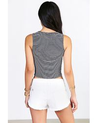 Truly Madly Deeply Blue Everday Cropped Tank Top